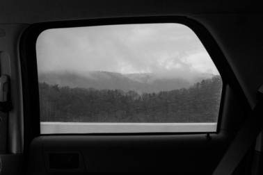 My view during the 20 hour car ride