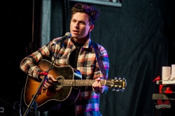 Max Kerman of The Arkells performing at Mike Taylor's Memorial Concert