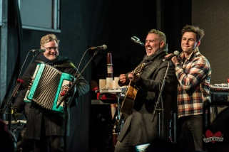 Max of the Arkells joins Barenaked Ladies performing at Mike Taylor's Memorial