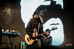 Monster Truck performing at Mike Taylor's Memorial Concert