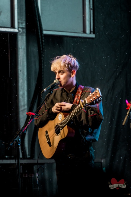 Scott Helman performing at Mike Taylor's Memorial