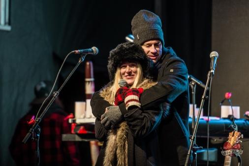 Walk Off The Earth's Sarah Blackwood and Ryan Marshall